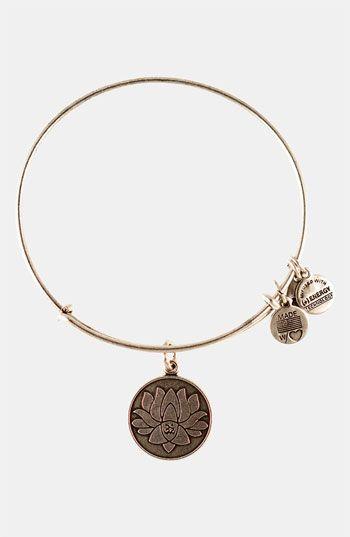 love Alex and Ani bracelets! Love. Them. Alex and Ani 'Lotus Peace ...
