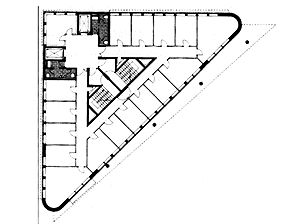 Triangular Buildings Plans Google Search Langebaan