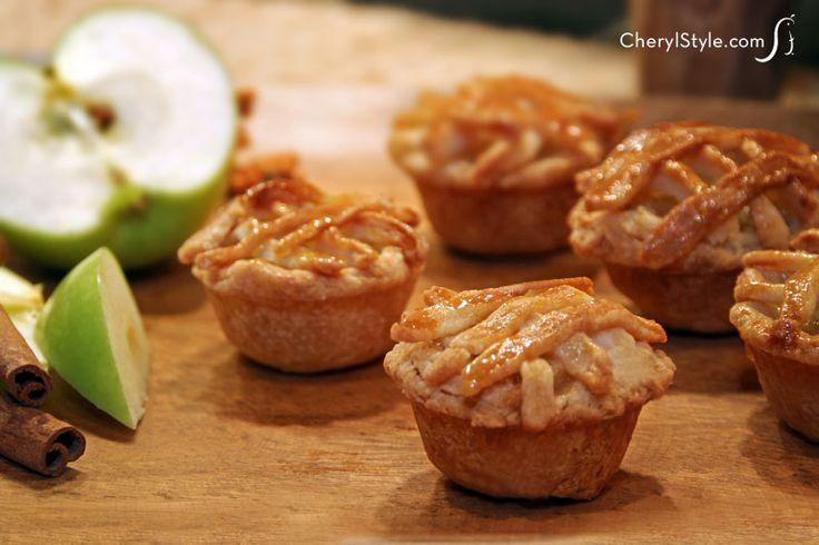 easy recipe for mini apple pies