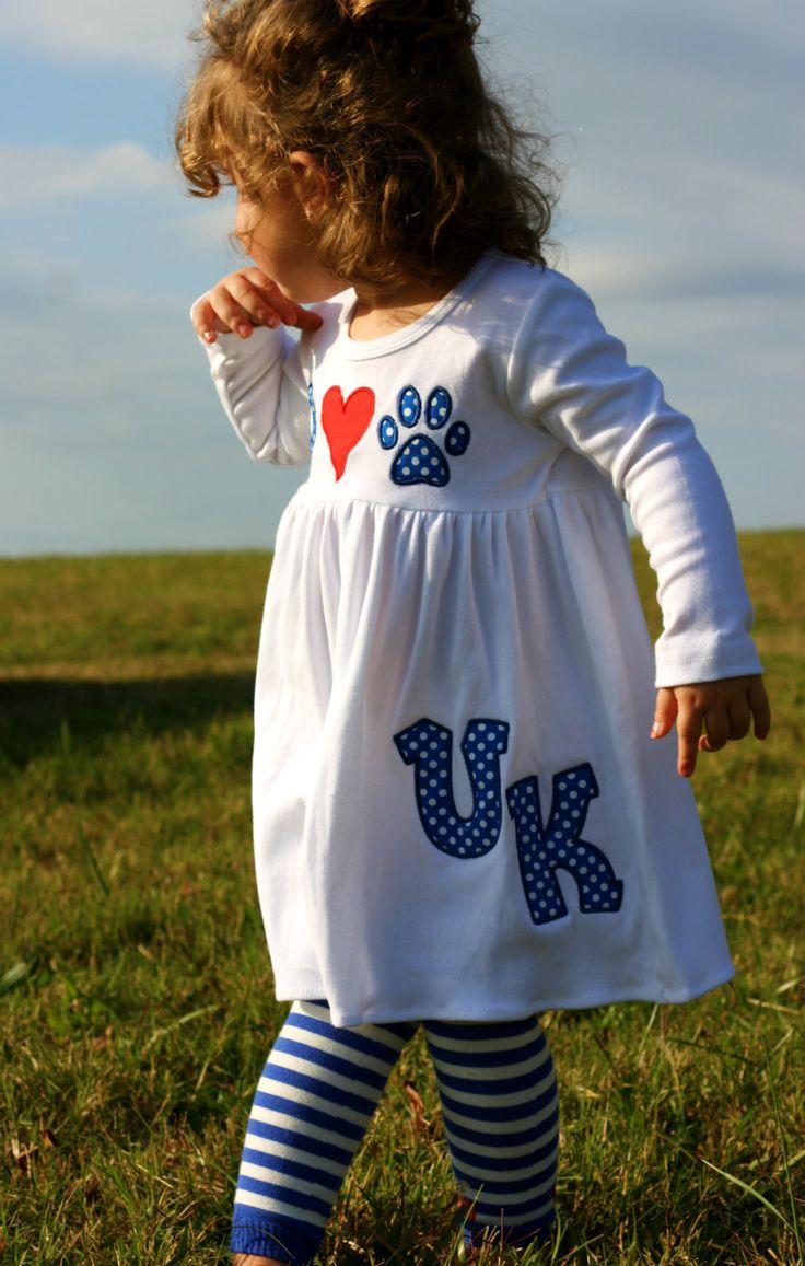 University of Kentucky Wildcats Cotton Peace by PumpkinPieGirl, $39.99