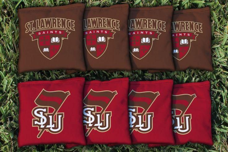 Cornhole Bag Logo Set - St. Lawrence University Saints 27816