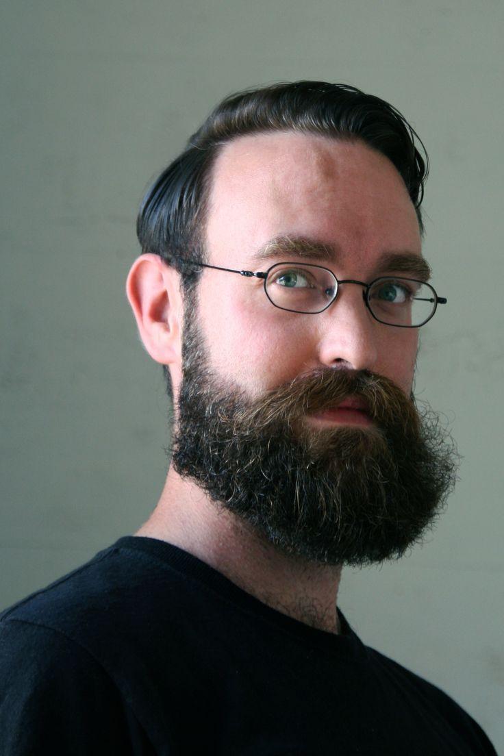 Artist Gareth Bate, 2014. #artist, #beards #beardsforever