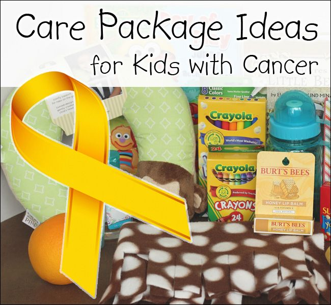Pibterest Cast Ideas For Kids: Care Package Ideas For Kids With Cancer