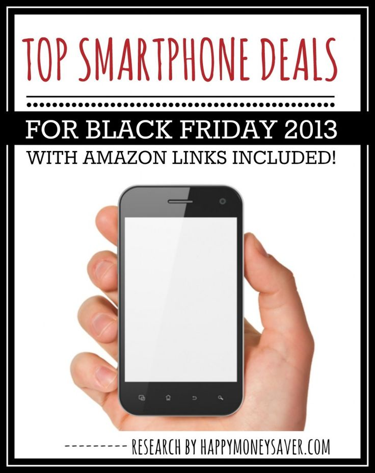 Top Smartphone Deals for Black Friday 2013