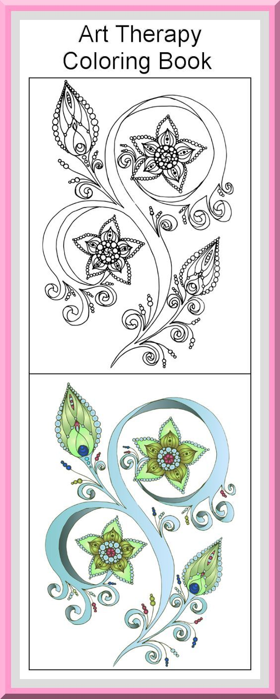 printable art therapy coloring pages - photo#50