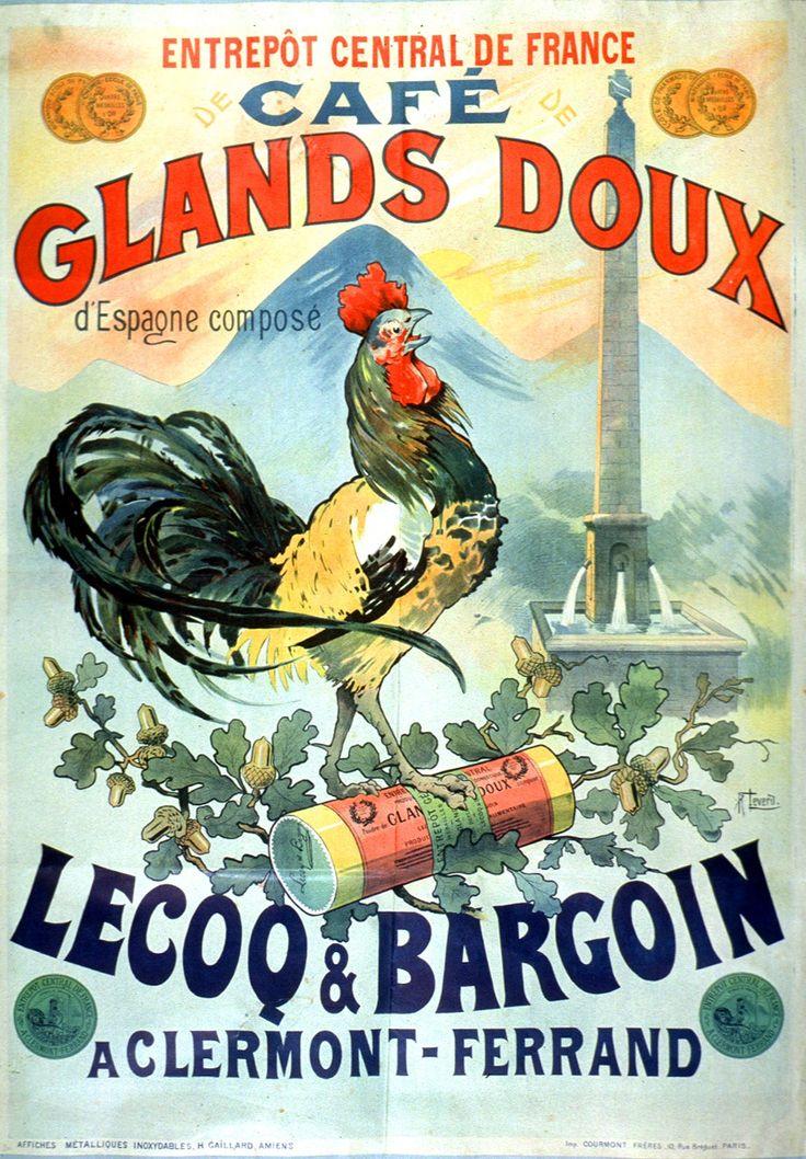 Art - Advertisement - French - Café de glands doux d'Espagne