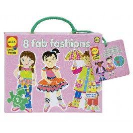 Tanto divertimento con un occhio all'ambiente con questi puzzle ecologici per iniziare a scoprire il mondo della moda!