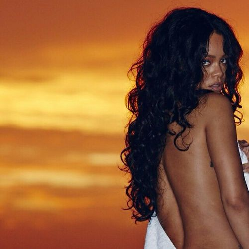 rihanna, riri, and sunset image