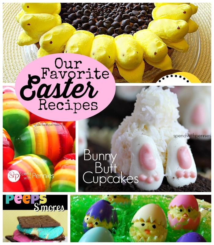 My favorite Easter recipes all in one spot!