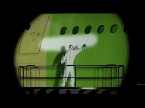 ▶ Qantas A380 Delivery Ceremony - Light Show - YouTube This Looks So Cool On A Large Screen Plasma TV, Way Cool!