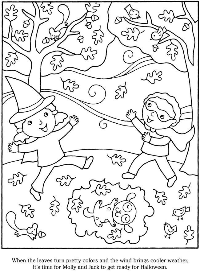 welcome to dover publications color and cook halloween - Dover Publishing Coloring Books
