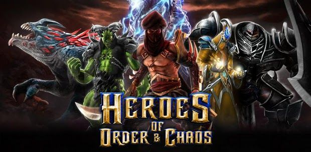 Heroes of Order & Chaos Game, Comes To iOS And Android Devices For free!