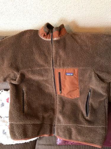 Patagonia-Men-039-s-Retro-X-Jacket-XXL-Brown