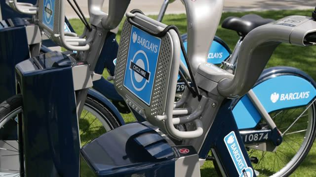 Cycle Hire Scheme bikes are located in docking stations all over London
