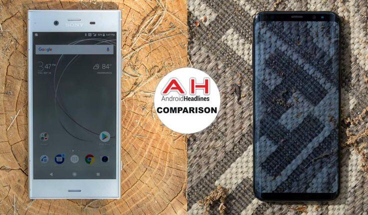 Phone Comparisons: Sony Xperia XZ1 vs Samsung Galaxy S8 #Android #Google #news