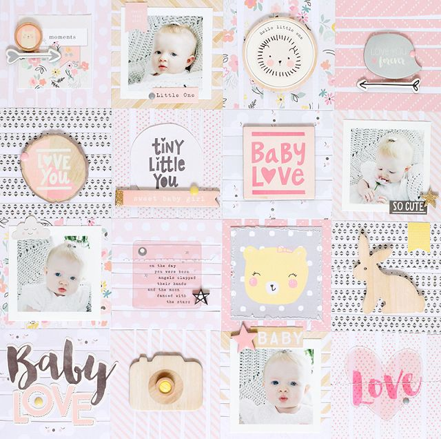 Ashley Horton Designs: Crate Paper | Baby Love