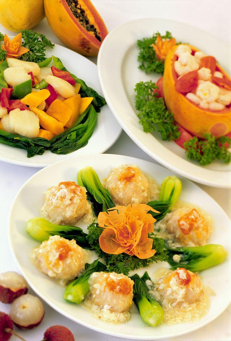 Hongkongilaisen keittiön taidonnäytteitä.  #Food #Hongkong #China