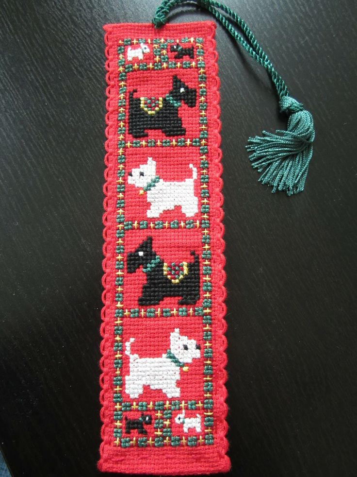Crosstitch Bookmarks Kids Craft