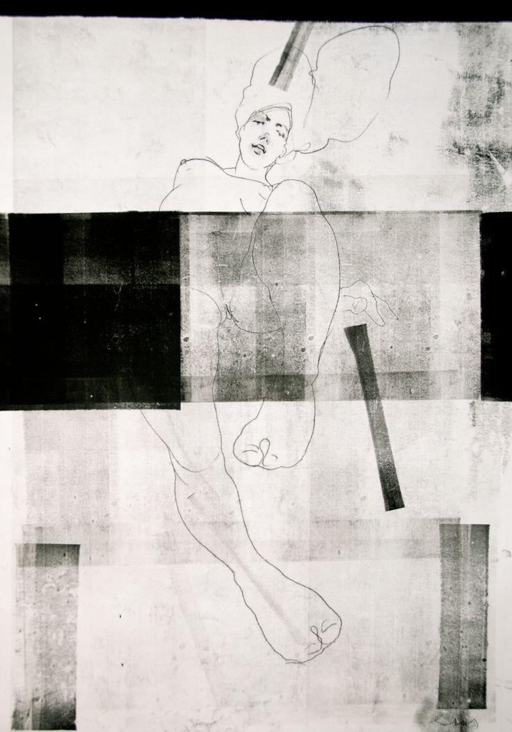 NUDE No. 3317 100 x 70 cm