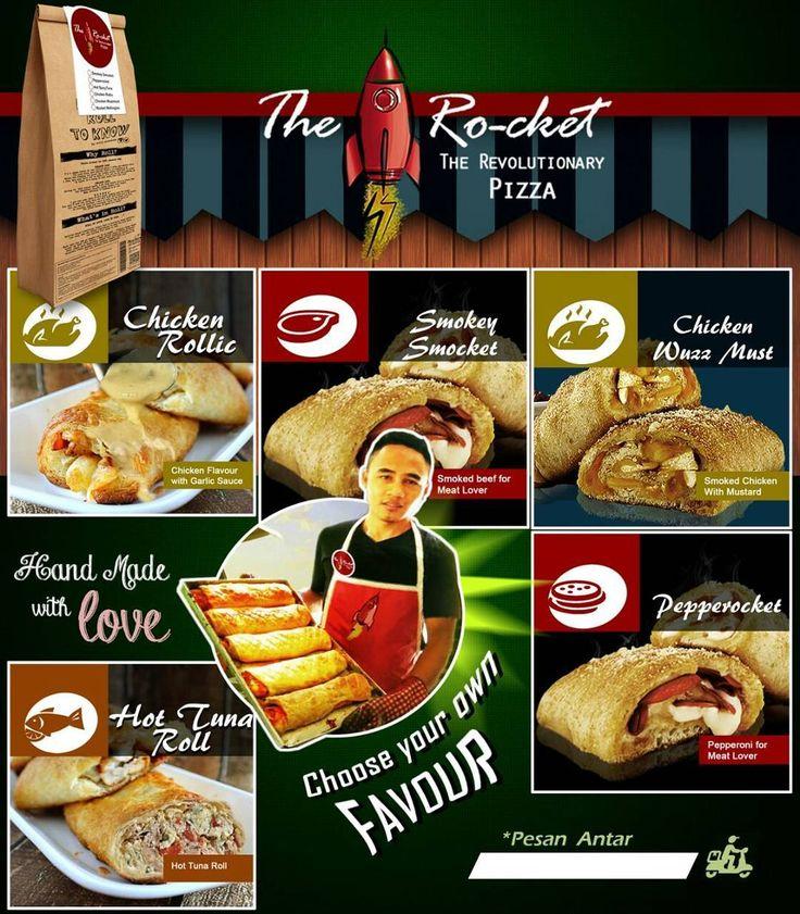 CHOOSE Your own favour  #rocketpizza #carabarumakanpizza #revolutionarypizza #rocketpizzaindonesia