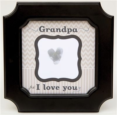 Grandpa Frame Ps I Love You Thumbprint