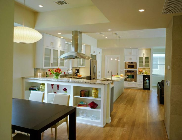 half wall kitchen kitchen transitional with built in storage contemporary knife blocks and storage
