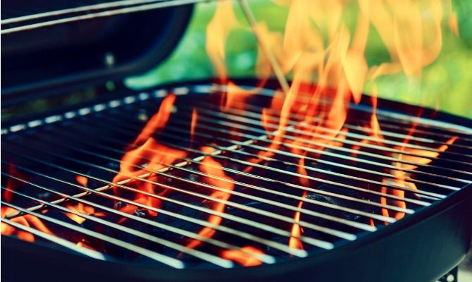 Make sure you stay safe at your #FourthofJuly #BBQ.