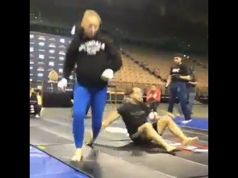 No Gi Judo  Ronda Rosey