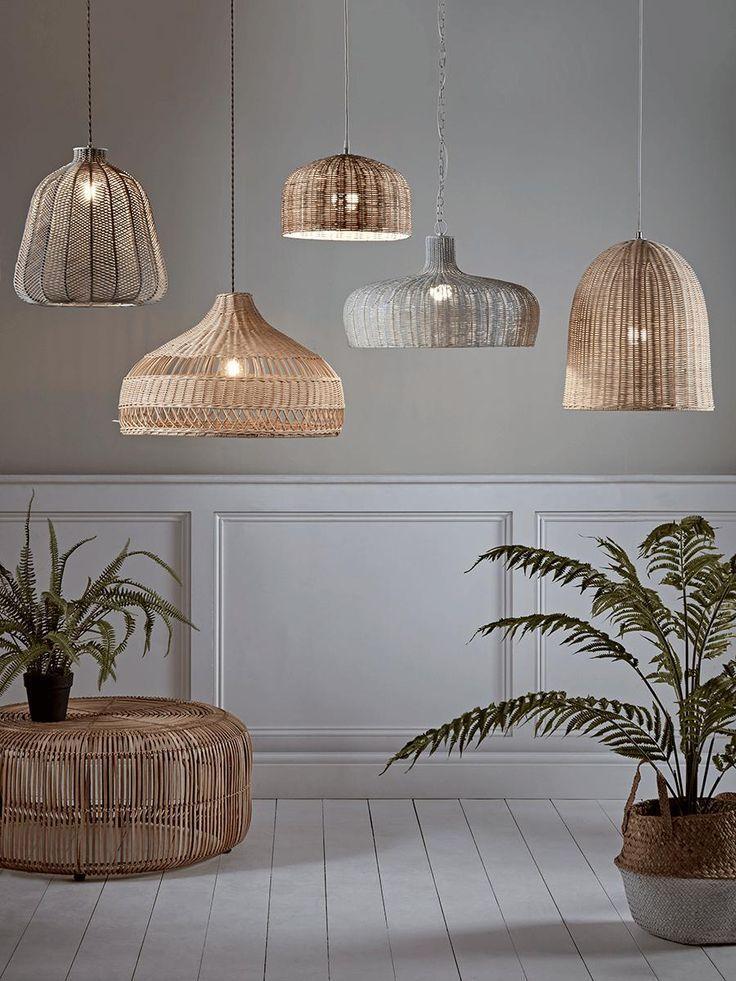 Rotan Lampen In Je Woonkamer Natural Elements Livingroom Styling Decoration Lampen S Deckenleuchte Schlafzimmer Wohnzimmerbeleuchtung Lounge Beleuchtung