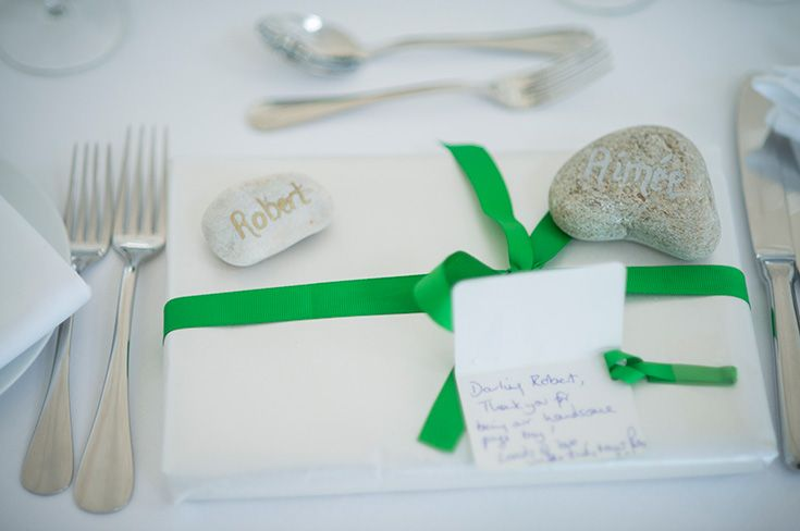 Classic table settings for this Crear wedding http://www.crearweddings.co.uk
