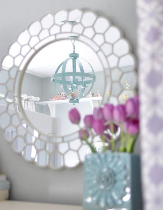 Lavender + Blue Girl's Room