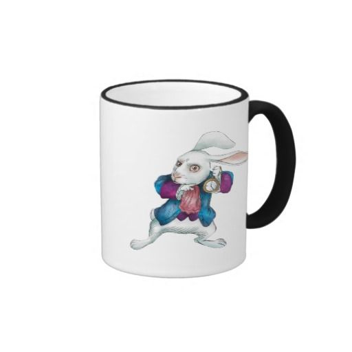 The White Rabbit | Looking for Wonderland 2. Regalos, Gifts. #taza #mug