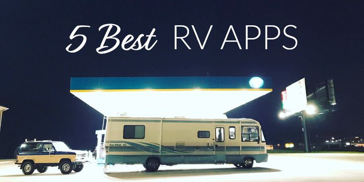 We rely on our phones to find gas, routes, and campsites while full-time RVing. Here's our 5 favorite RV apps for any road trip.