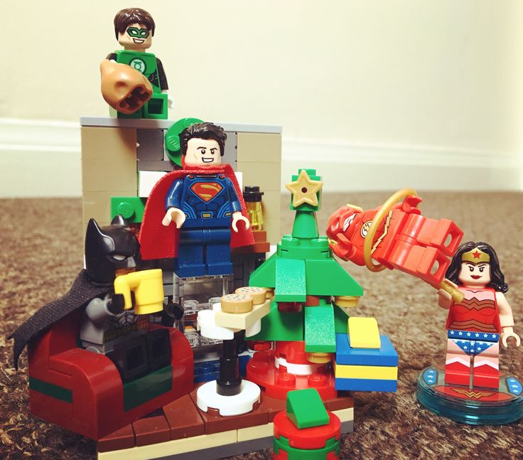 Merry Christmas from the Justice League