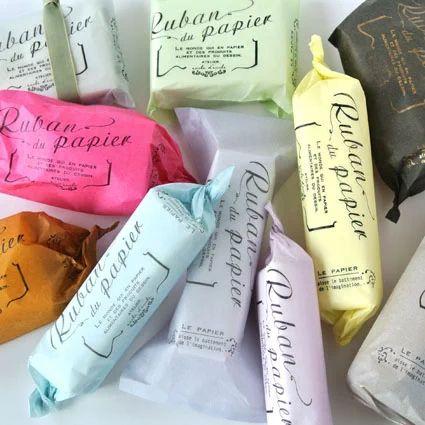 Tissue paper of the paper bag 10 color set