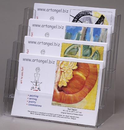 43 best brochure leaflet holders business card holders images on brochure holders counter standing brochure holders yet another acrylic literature display that stacks up colourmoves