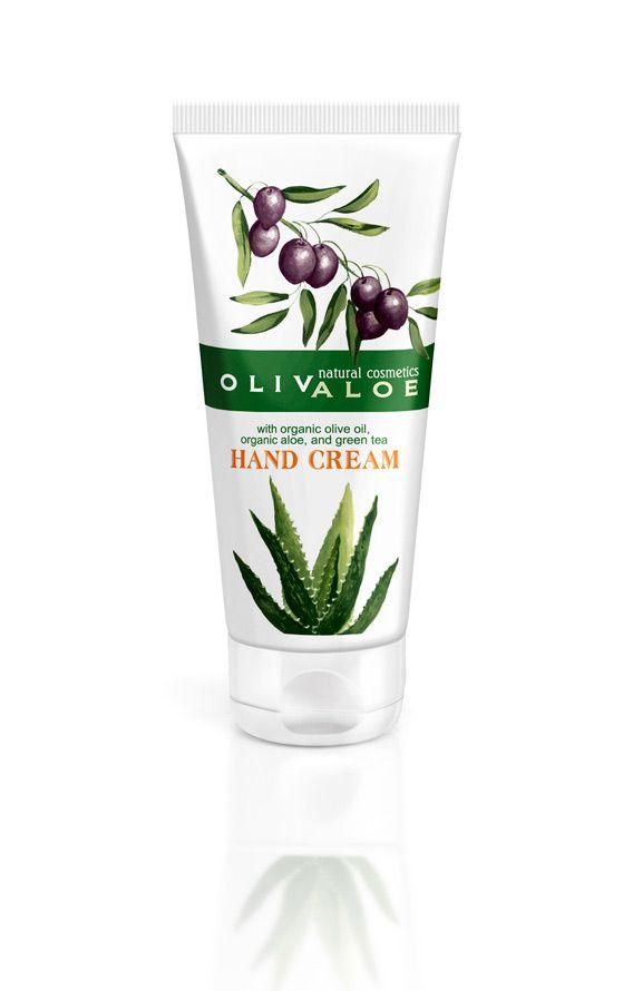 OLIVALOE hand cream
