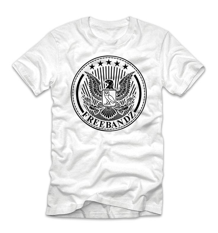 Freebandz x OVO Owl Classic Logo Future Drake T-Shirt