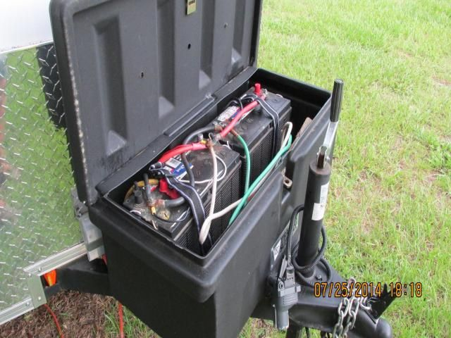 Man Cave Trailer : Man cave trailer conversion complete with solar power