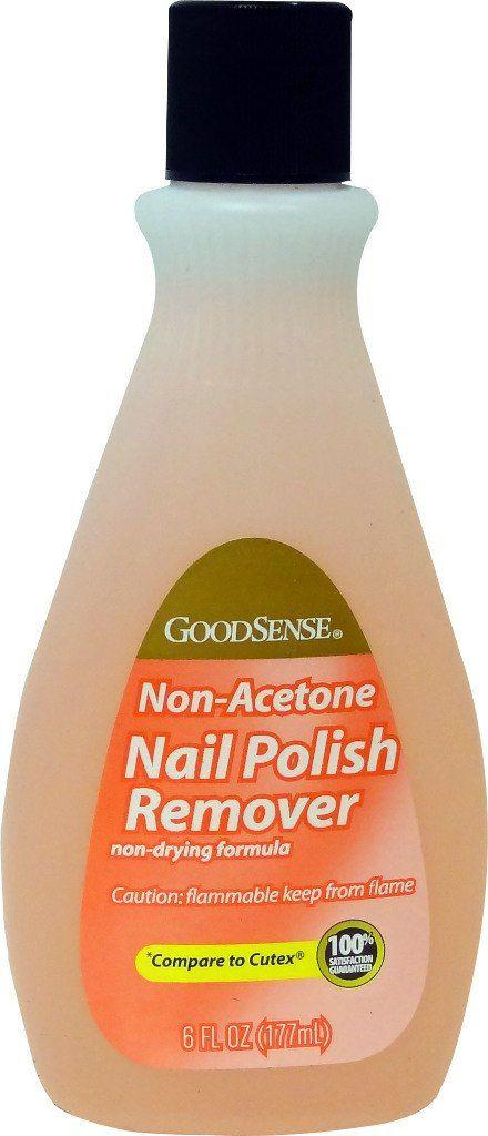 GoodSense® Nail Polish Remover Non-Acetone 6 oz Case Pack 24