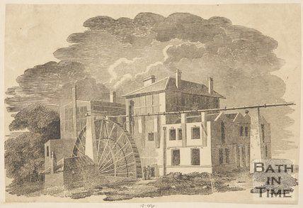 De Montalt Mill, Combe Down c.1850