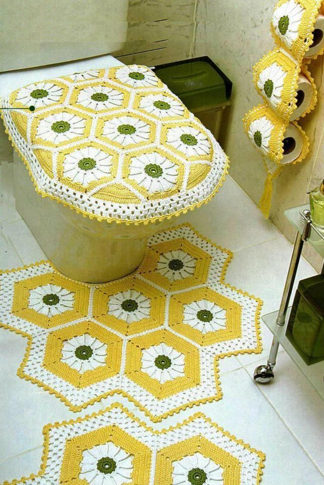 Klozet tak mlar crochet craft and crochet tablecloth for Home decor on highway 6