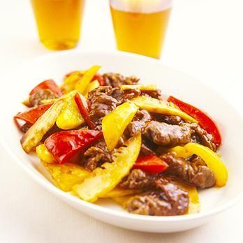 牛肉とピーマンの中華炒め | 村田裕子さんの炒めものの料理レシピ | プロの簡単料理レシピはレタスクラブニュース