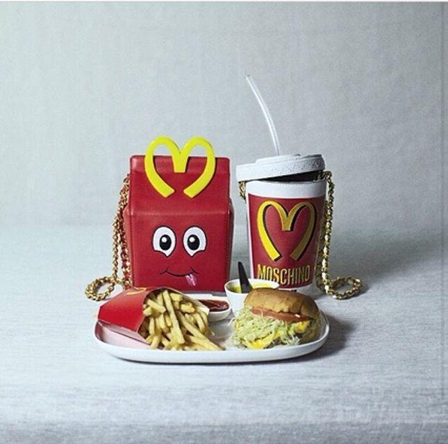 Moschino McDonalds purses