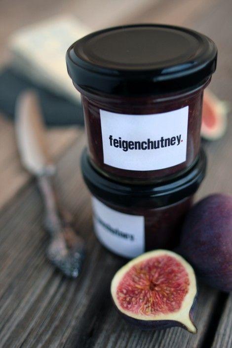 Feigen-Chutney mit Ingwer
