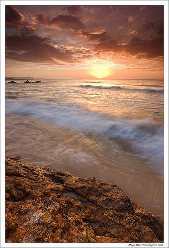✯ Golden Sunrise at Croajingolong National Park, Australia