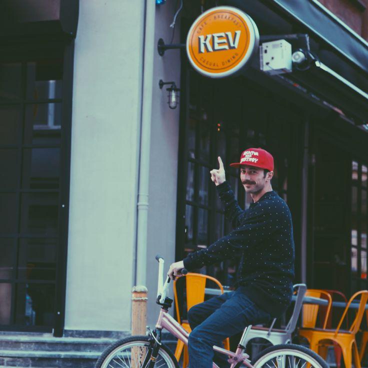 X4Tune ziyareti.  #KevCafe #Bisiklet #Kadıköy