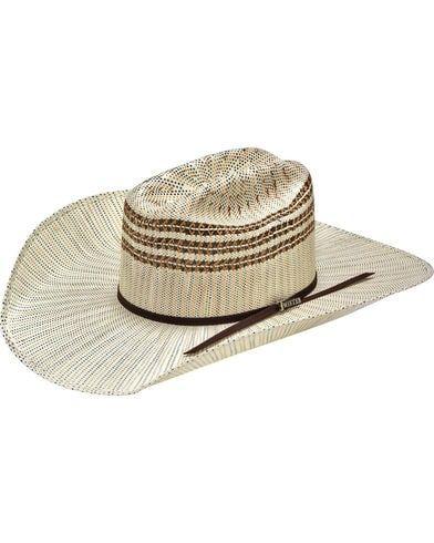 a4ec0e29b3 Twister Men s Tan Ivory Brown Bangora Cowboy Hat