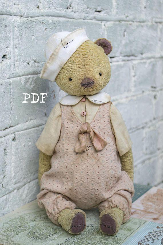 235 besten Teddy Bear Patterns... Bilder auf Pinterest | Teddybär ...