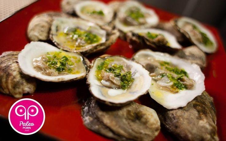 Paleo Raw Oysters - Paleo Porn: Steamy Paleo Recipes | #paleo